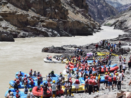Ladakh River Festival - The Highest Rafting Champs