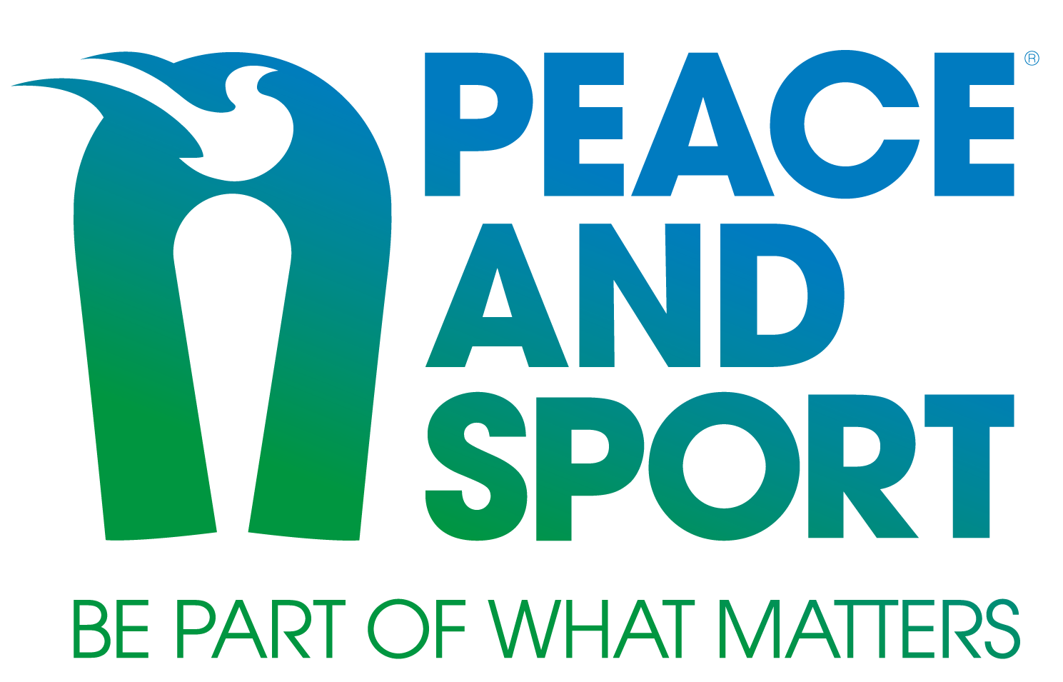 Logo Peace and Sport EN transparent